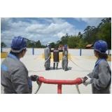 Empresa de serviço de treinamento de brigada de incêndio no Centro