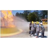 Empresa para treinamento de brigadistas para combate a incêndio no Jardim Belval