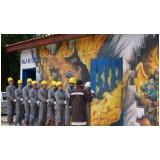 planos de evacuação de incêndios no Morro Grande