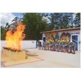 quanto custa treinamento de bombeiro civil na Barra Funda