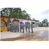 quanto custa treinamento de evacuação de área no Jardim Belval