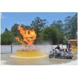 Serviços de treinamento de brigada de incêndio no Jaraguá