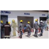 simulados de evacuação de emergência no Morro Grande