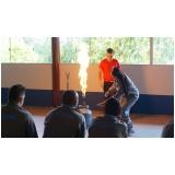 Treinamento de brigada de incêndio em SP na Lapa