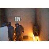 Treinamento de brigada de combate a incêndio