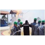Treinamento de brigada de incêndio em barueri