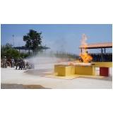 Treinamento de brigadas de incêndio na Carapicuíba