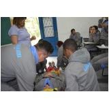 treinamento para evacuação de área em Raposo Tavares