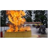 Treinamentos de brigada de incêndio no Rio Pequeno