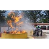 Treinamentos de brigadas de incêndio no Jardim dos Camargos