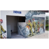 treinamentos de corpos de bombeiros na Granja Viana