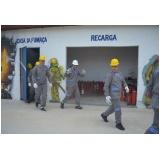 treinamentos de plano de evacuação no Jaguaré