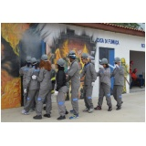 treinamentos para evacuação de área na Vila Sônia