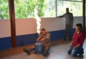 Treinamento de Brigada contra Incêndio no Morro Grande - Serviço de Treinamento de Brigada de Incêndio
