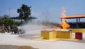 Treinamento de Brigadas de Incêndio no Jardim Silveira - Treinamento de Brigadistas