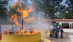 Treinamentos de Brigadas de Incêndio no Pacaembu - Treinamento de Brigadistas